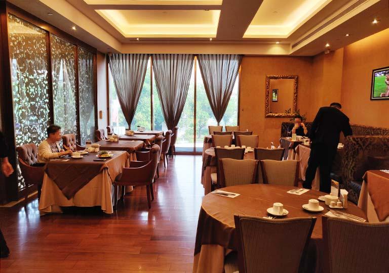 サンワンレジデンシズ台北(San Want Residences Taipei) 朝食会場