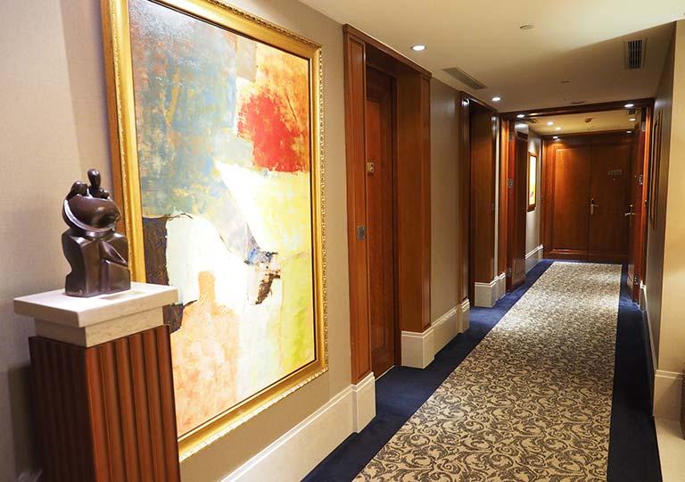 サンワンレジデンシズ台北(San Want Residences Taipei) 廊下