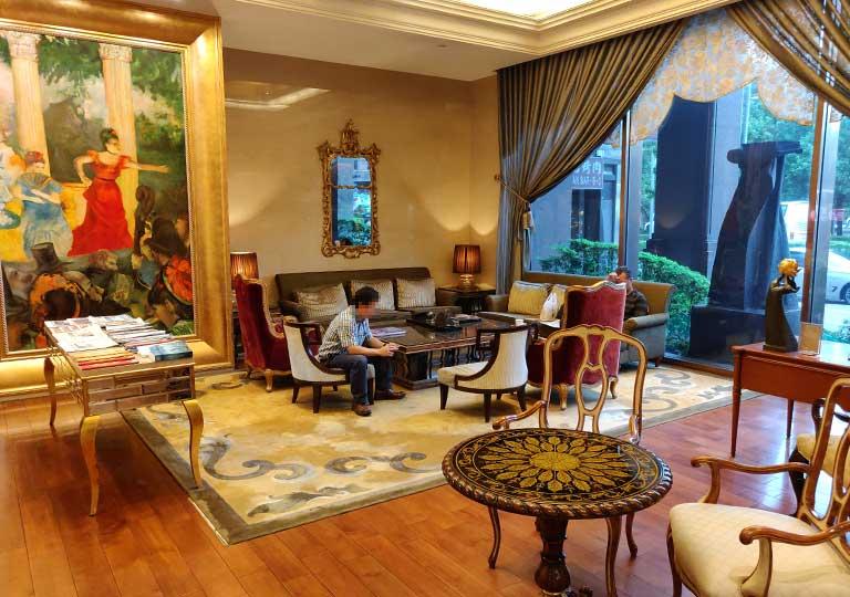 サンワンレジデンシズ台北(San Want Residences Taipei) レジデンスラウンジ