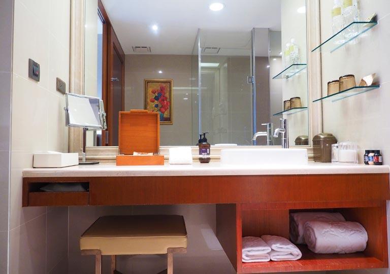サンワンレジデンシズ台北(San Want Residences Taipei) 客室の洗面台