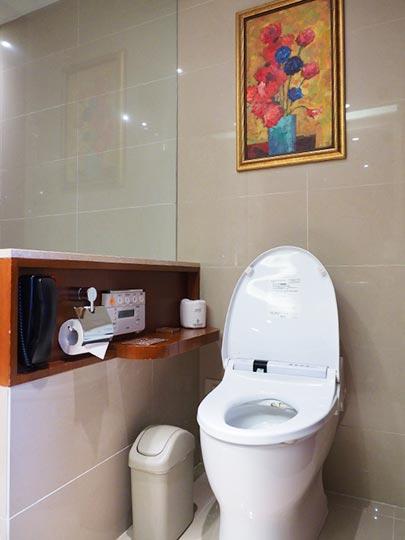 サンワンレジデンシズ台北(San Want Residences Taipei) 客室のトイレ
