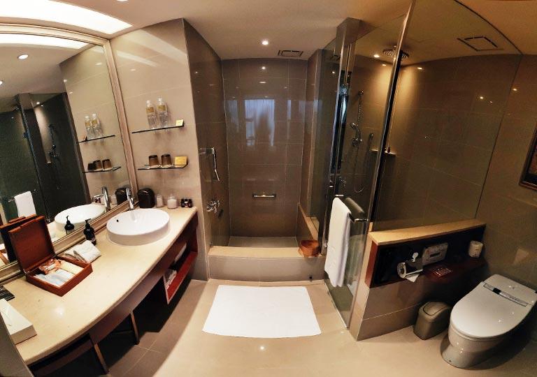 サンワンレジデンシズ台北(San Want Residences Taipei) 客室のバスルーム