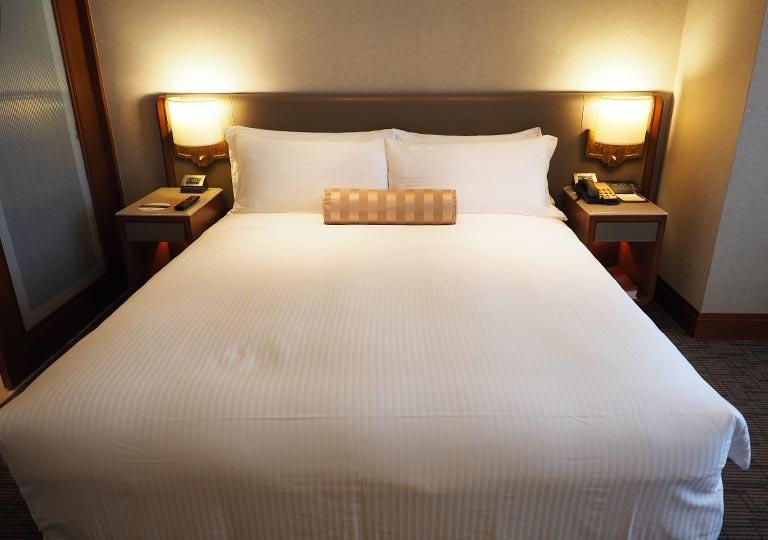 サンワンレジデンシズ台北(San Want Residences Taipei) 客室のベッド