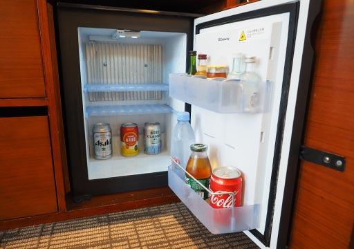 サンワンレジデンシズ台北(San Want Residences Taipei) 客室の冷蔵庫