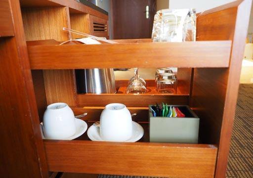 サンワンレジデンシズ台北(San Want Residences Taipei) 客室のティー・コーヒーセット