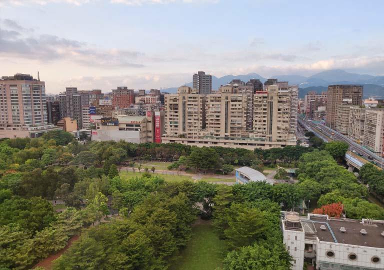 サンワンレジデンシズ台北(San Want Residences Taipei) 客室の窓からの眺め