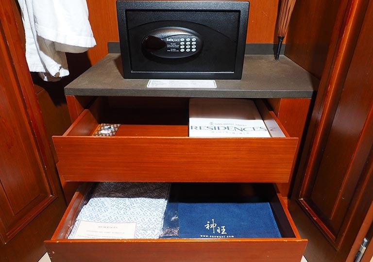 サンワンレジデンシズ台北(San Want Residences Taipei) 客室の浴衣