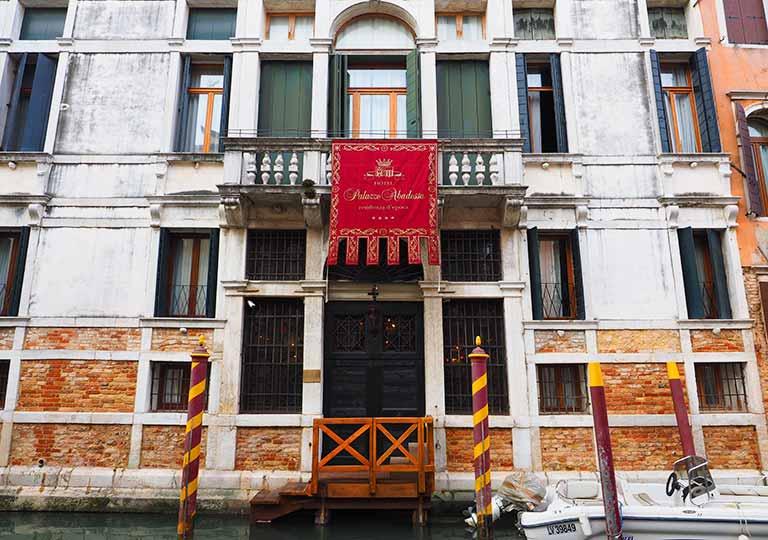 ベネチア ホテル パラッツオ アバデッサ(Hotel Palazzo Abadessa)