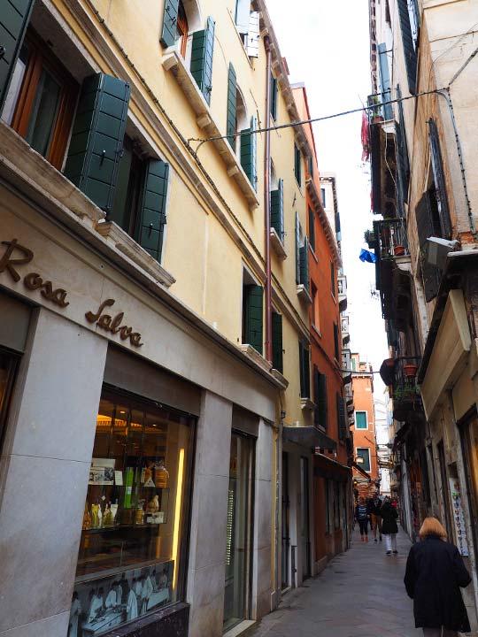 ベネチア ロサ サルバ ホテル (Rosa Salva Hotel)