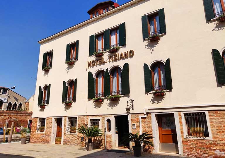 ベネチア ホテル ティツィアーノ(Hotel Tiziano)