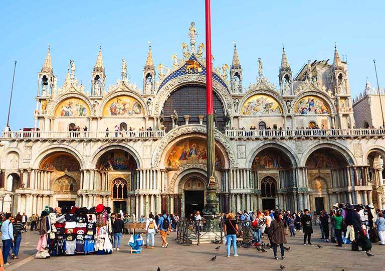 ベネチア サンマルコ寺院(San Marco Basilica)