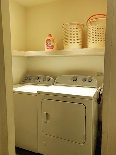 ヴィアホテル台北ステーション(Via Hotel Taipei Station) ランドリールームの洗濯機