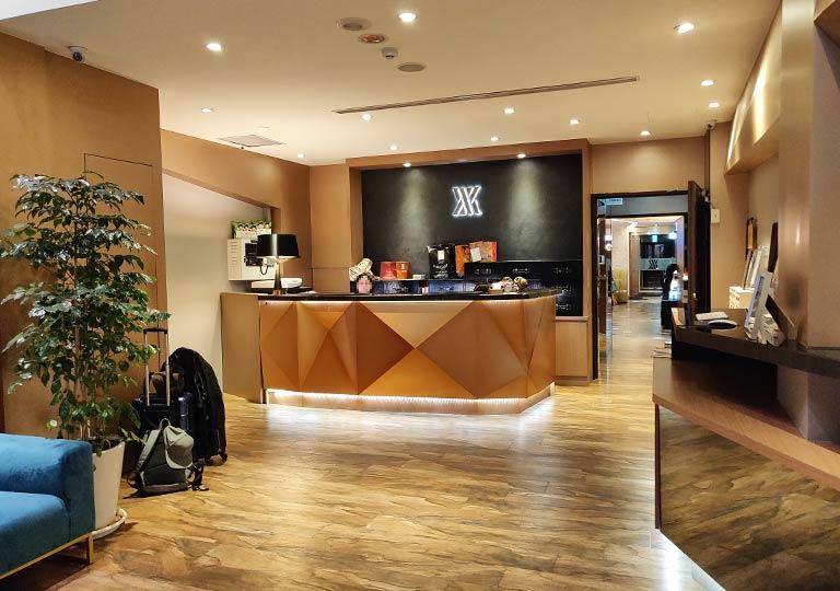 ヴィアホテル台北ステーション(Via Hotel Taipei Station) レセプションホール