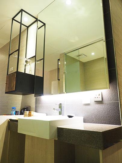 ヴィアホテル台北ステーション(Via Hotel Taipei Station) 客室の洗面台