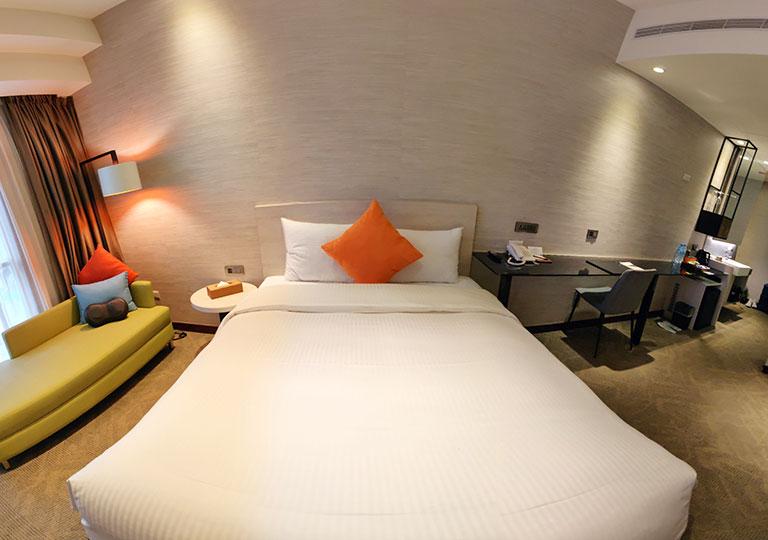 ヴィアホテル台北ステーション(Via Hotel Taipei Station) 客室の180度画像