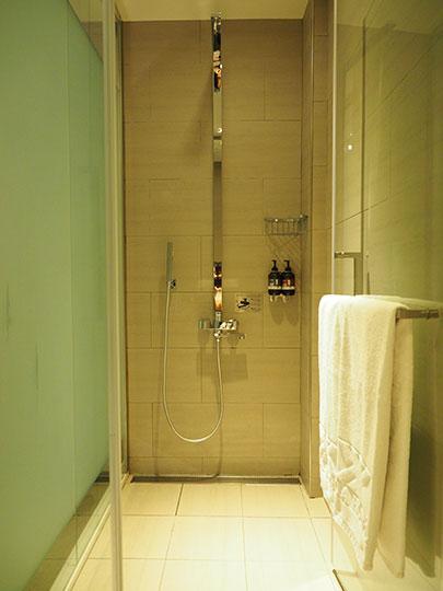 ヴィアホテル台北ステーション(Via Hotel Taipei Station) 客室のシャワー