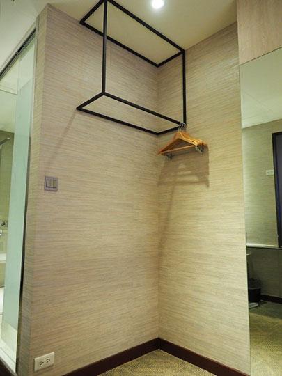 ヴィアホテル台北ステーション(Via Hotel Taipei Station) 客室のワードローブ