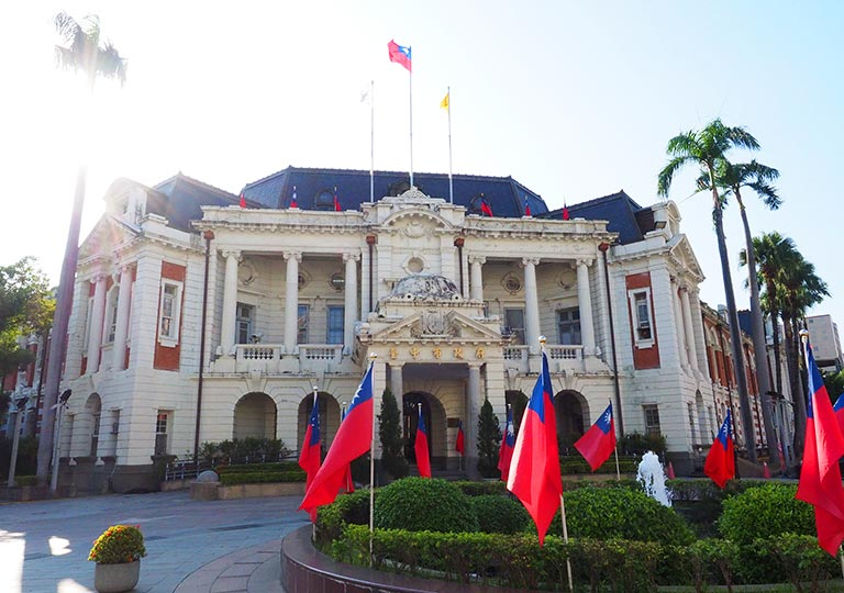 台中 台中市政府庁舎