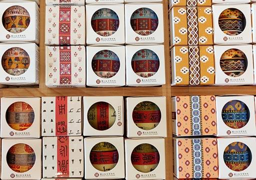 台北 国立故宮博物館ミュージアムショップのマスキングテープ