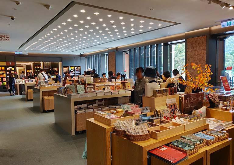 台北 国立故宮博物館のミュージアムショップ