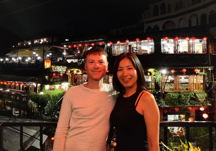 九份 阿妹茶酒館とnicolenaの画像