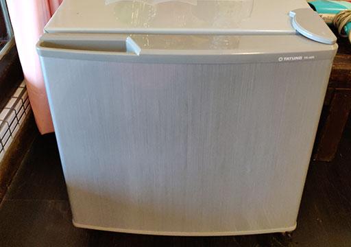 九份 サニールーム(陽光味宿) 客室の冷蔵庫