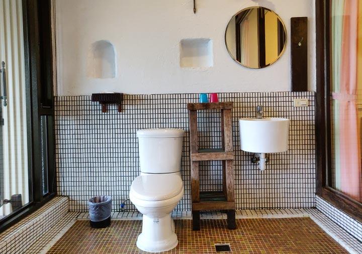 九份 サニールーム(陽光味宿) 客室のトイレ