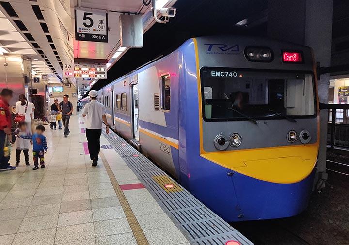 台湾の台鉄(TRA)の電車