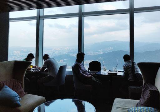 台北101 88階のBar88