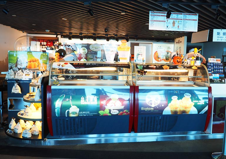 台北101 89階屋内展望台のスイーツショップ