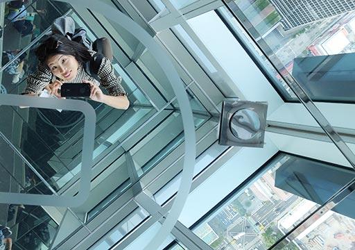 台北101 89階屋内展望台の撮影スポット