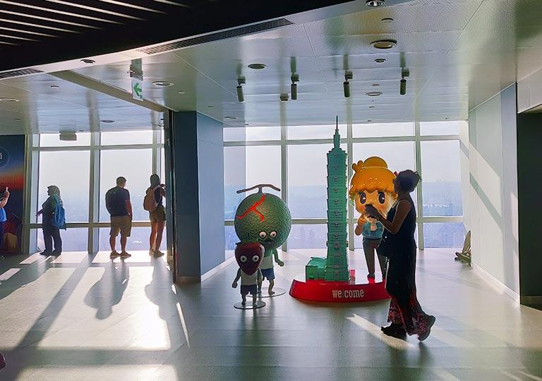 台北101 89階屋内展望台