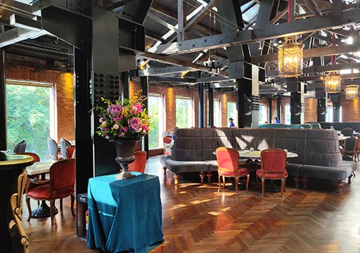 台中 宮原眼科のレストラン