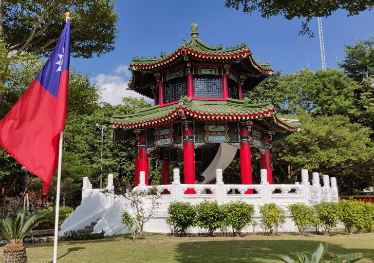 台北 忠烈祠の鐘楼