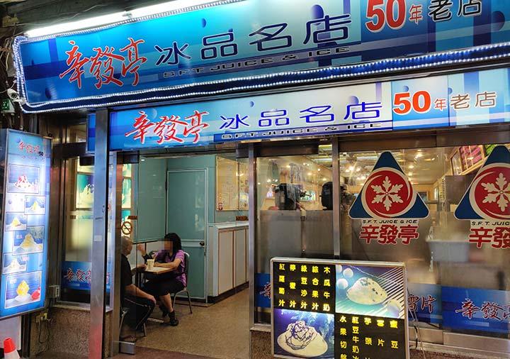 台北 士林夜市 大上海生煎包の焼き小籠包