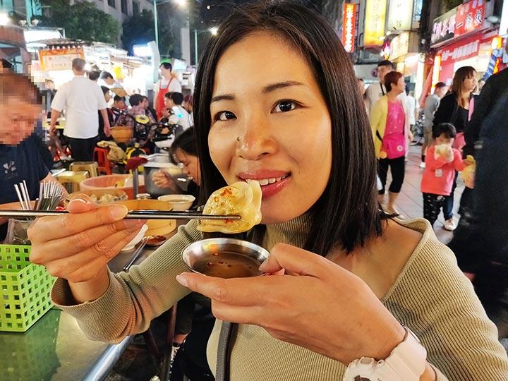 「台北の寧夏夜市が最高のグルメ夜市だった!おすすめとアクセスまとめ」 トップ画像