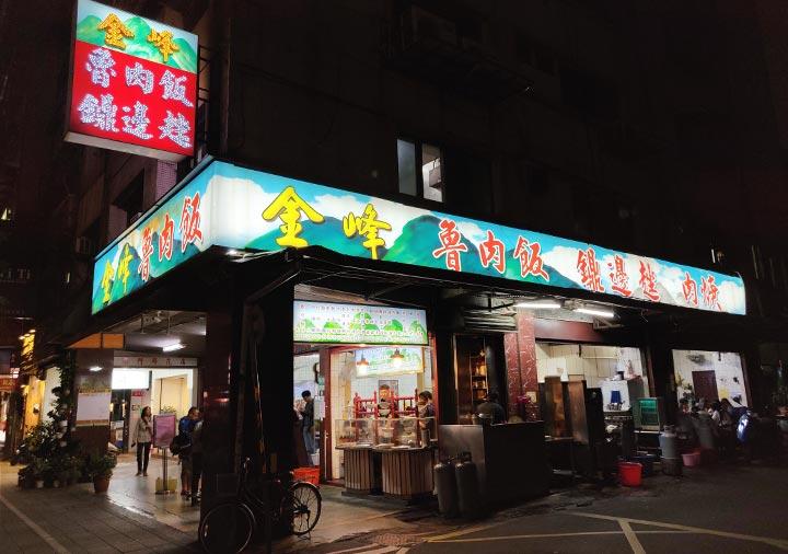 台北グルメ 金峰魯肉飯 ルーローハンの店