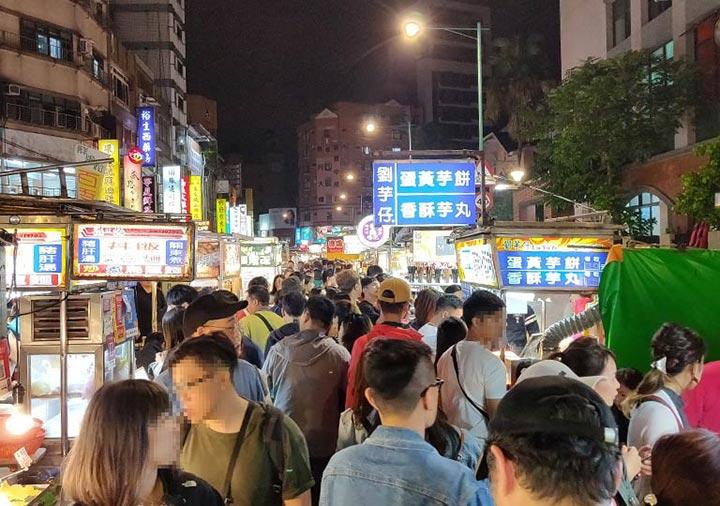 台北グルメ 寧夏夜市