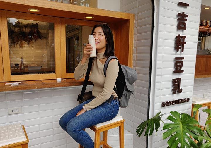 台北グルメ Soypresso 二吉軒豆乳 ニコレナ