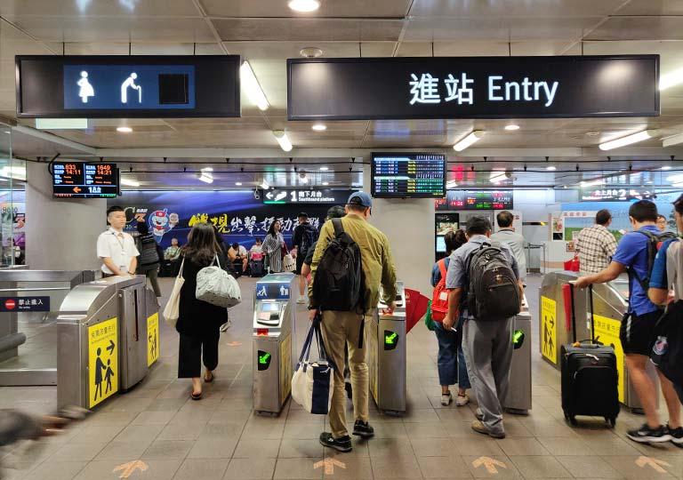 台湾新幹線 改札