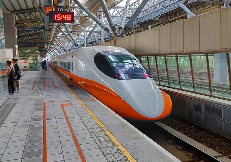 台湾新幹線 新幹線台中駅の乗り場