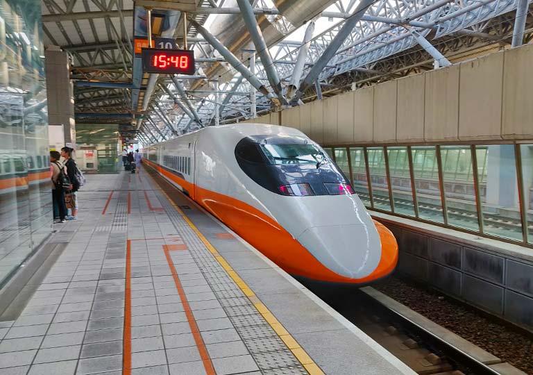 台湾新幹線の電車
