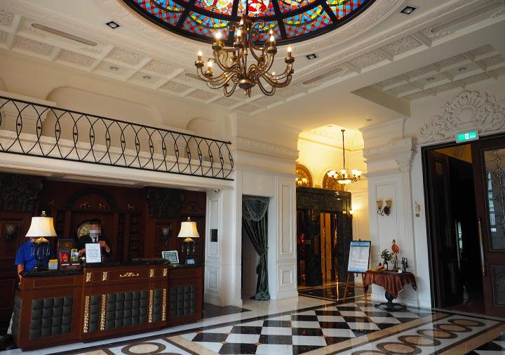 ゴールデンチューリップRSブティックホテル台南 エントランスホール