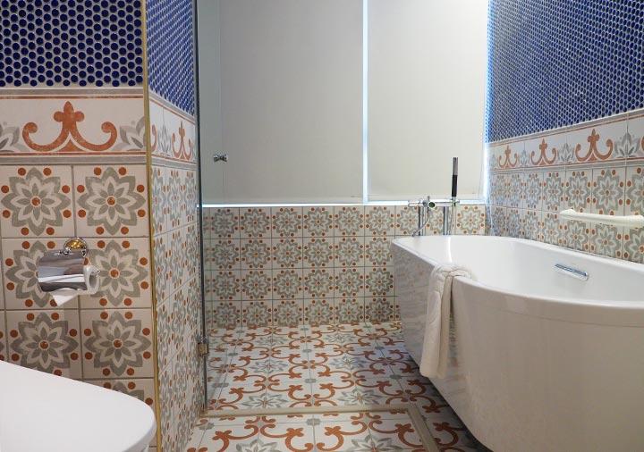 ゴールデンチューリップRSブティックホテル台南 客室のバスルーム