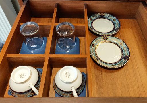 ゴールデンチューリップRSブティックホテル台南 客室のコーヒーカップ