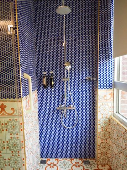 ゴールデンチューリップRSブティックホテル台南 客室のシャワー
