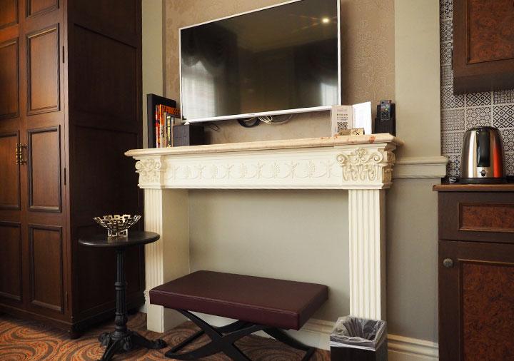 ゴールデンチューリップRSブティックホテル台南 客室のテレビ