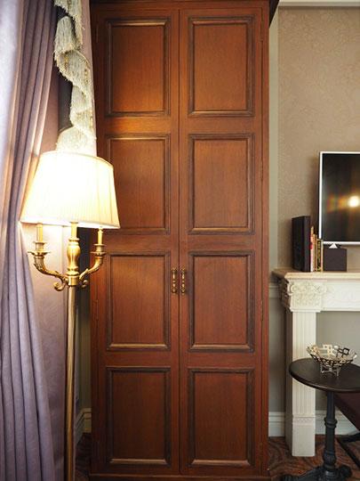 ゴールデンチューリップRSブティックホテル台南 客室のワードローブ