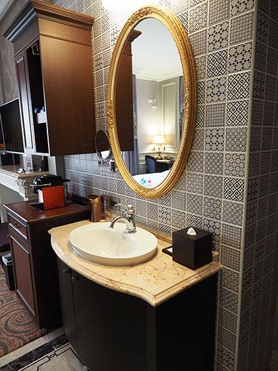 ゴールデンチューリップRSブティックホテル台南 客室の洗面台