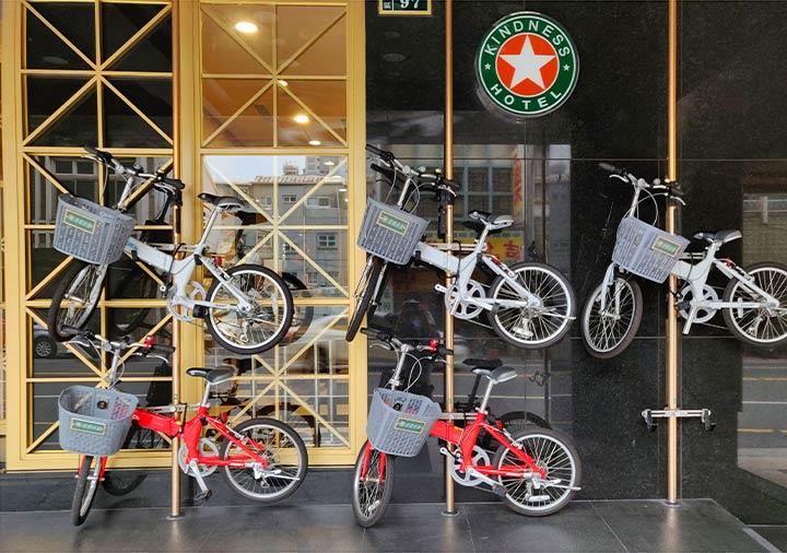 カインドネスホテル台南チーカンタワー 自転車